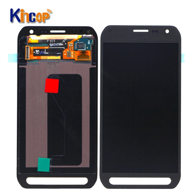 Mobile phone LCD For Samsung Galaxy S6 active G890 LCD Display with Touch Screen Digitizer Assembly for s6 active lcd display
