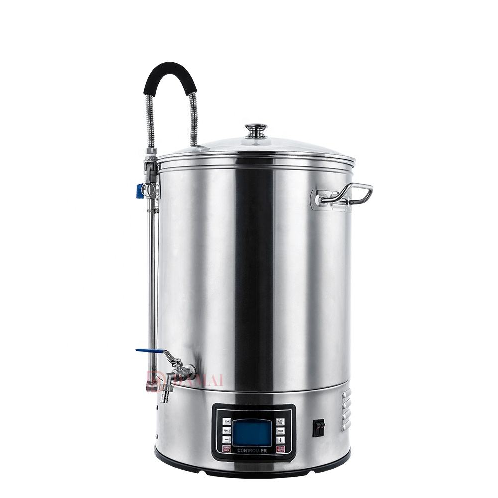 60L home brewing equipment/maquina para hacer cerveza/Beer mash tun/50L similar Guten Microbrewery