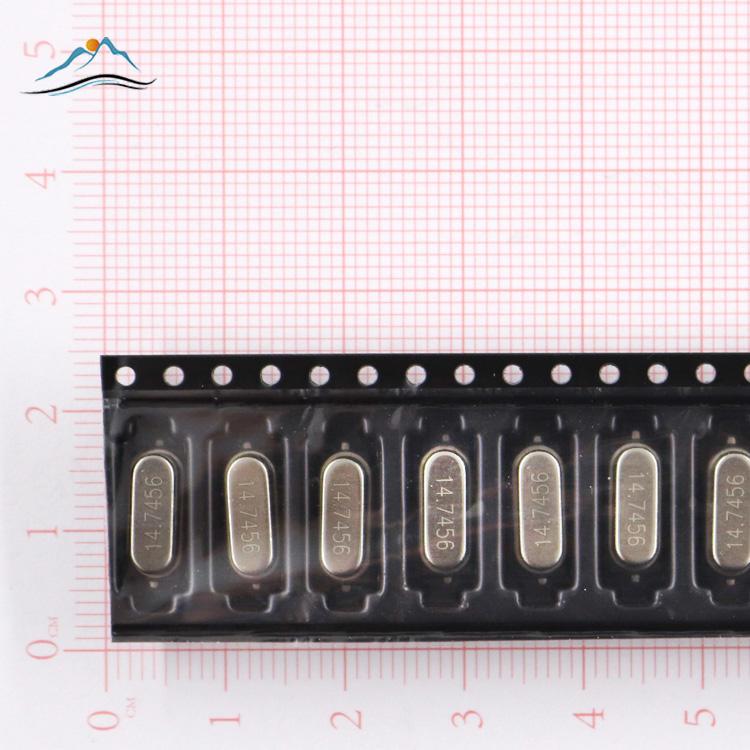 100 pieces ABRACON ABM3-18.432MHZ-B2-T CRYSTAL 18PF 18.432MHZ SMD