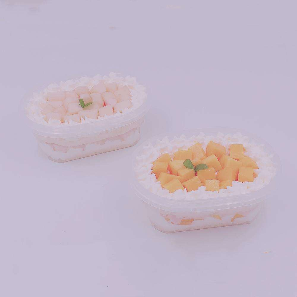 IML container, candy, cookie box, transparent plastic box