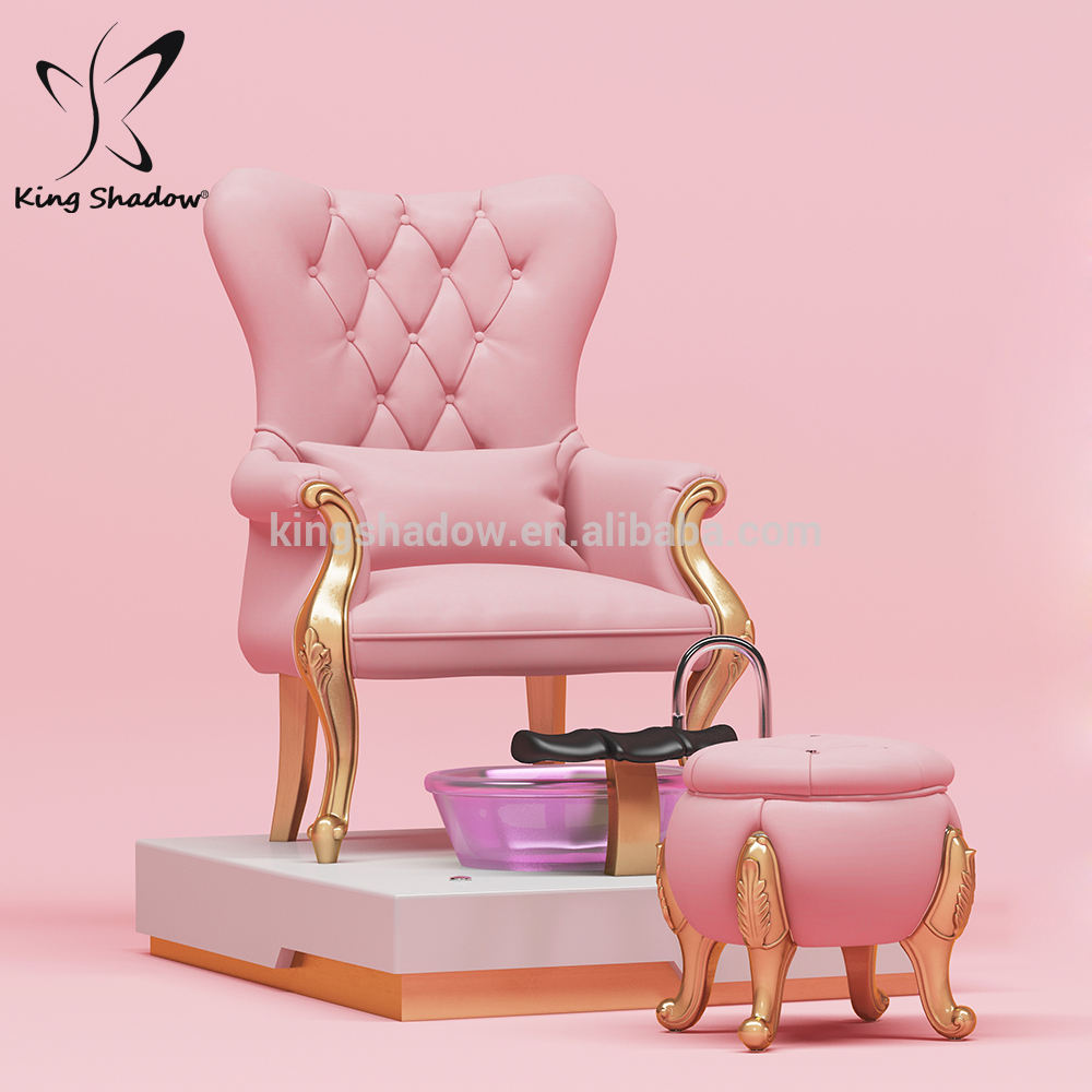 Luxury nail salon furniture set nail salon furniture foot spa pedicure chairs throne pedicure