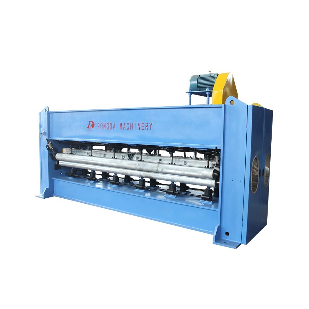 Non woven middle speed needle punching machine for carpet / felt and blanket
