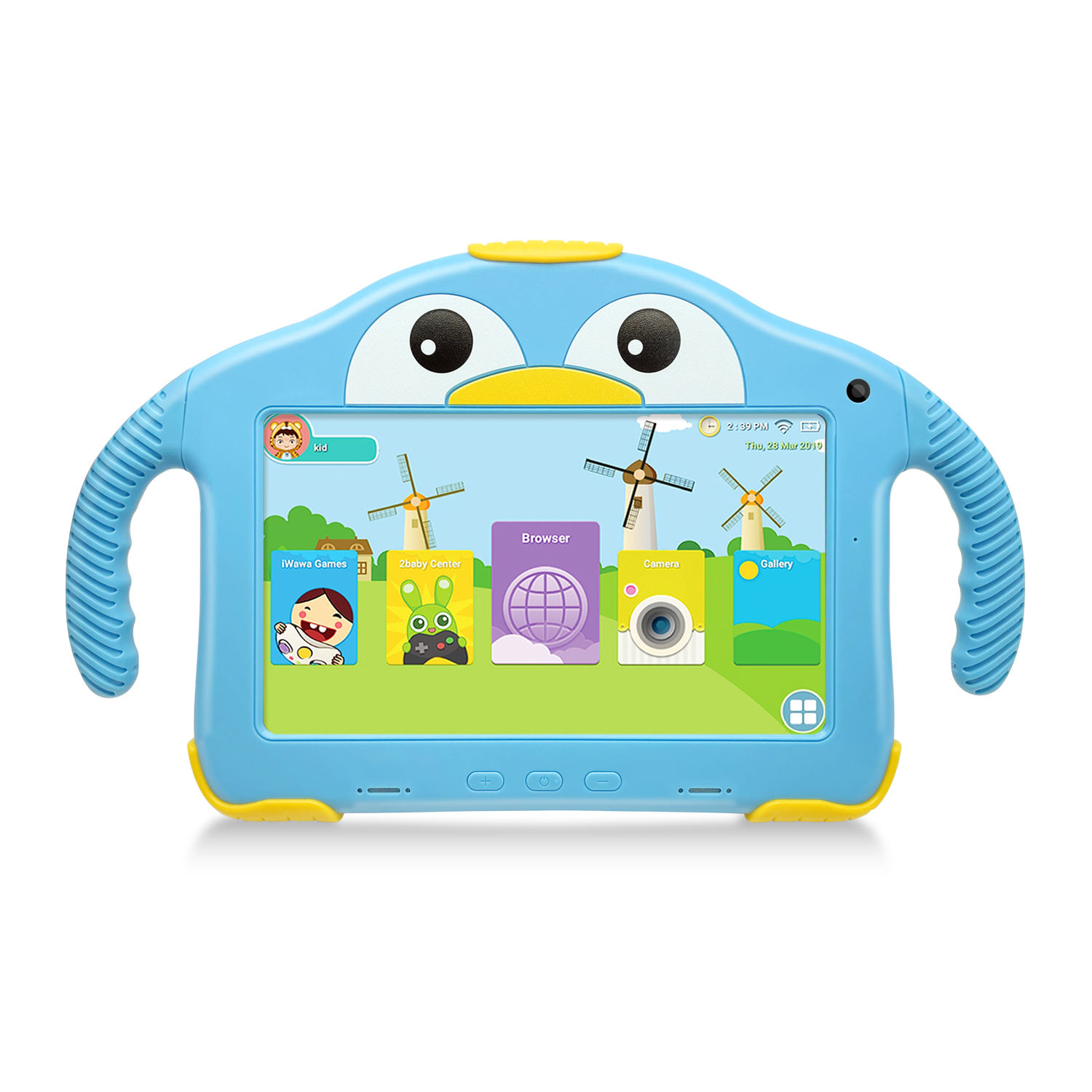 large stock best sell 7 Inch Kids Education Android 10.0 Learning and Gaming Tablet with RAM 2GB Storage 16GB from OEM factory