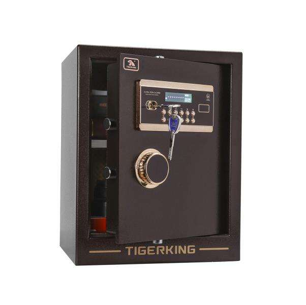 Hot selling electronic keypad lock safe solid steel protection jewelry and valuables High-grade safe