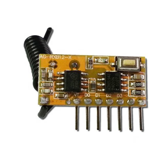 Superheterodyne 433Mhz RF Receiver Module For Arduino Diy Kits 433 mhz Remote Controls