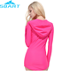 Sexy Girls Bathing Suits SBART New Arrival Sexy Girls Bathing Suit Fashion Design Lycra Long Sleeve Beachwear With Hood