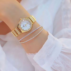 FA1600 New Hot Sale BS Ladies Watches High Quality Foreign Trade High-end Linked List Custom Full Diamond Female Wristwatch