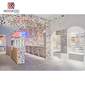 Colorful custom negozio di mobili ottico showroom interno Con luci a led