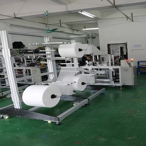 High performance fully automatic n95 mask making machine for 3 ply nonwoven fabric face mask production line