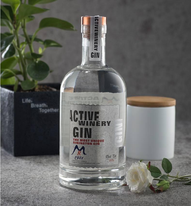 750ml vodka bottle wine liquor glass bottle 750ml gin bottles with cork