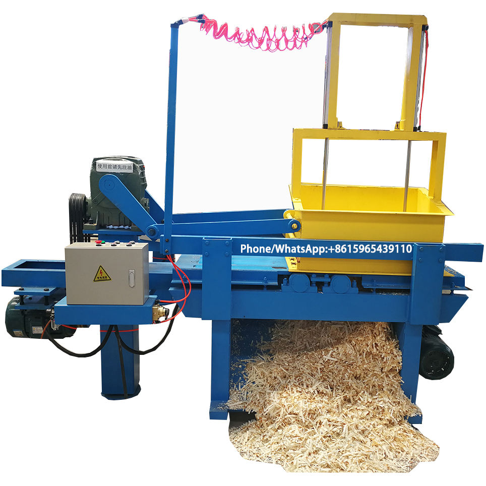 pine wood sawdust mill wood chipping machine wood shaving machine for animal/horse/chicken bedding