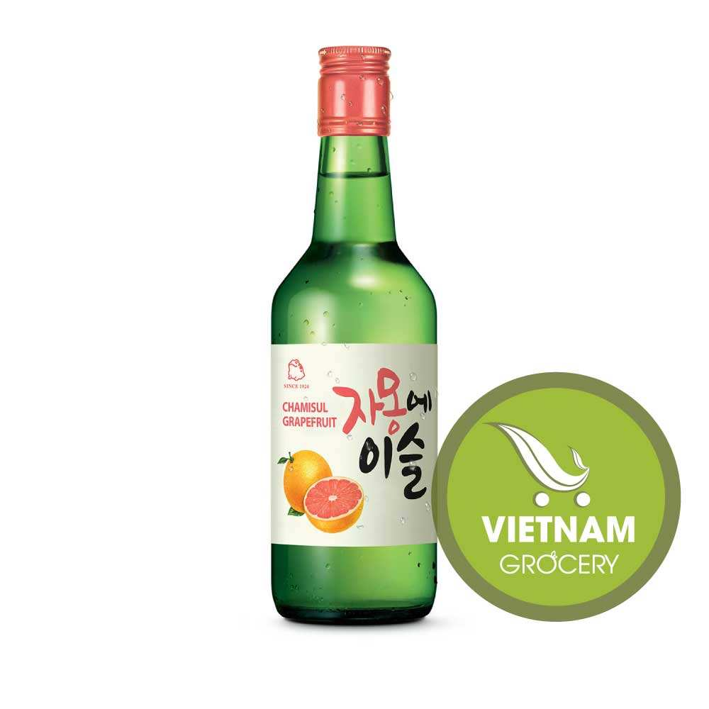 JINRO CHAMISUL GRAPEFRUIT SOJU 13% 360ML Good Price