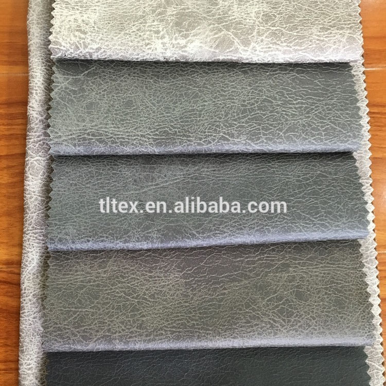 100% polyester material/foiled suede