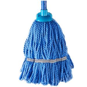 Handle 120cm Cleaning Cotton Mop Plastic Innovative Household Round Mop Head For Cleaning Room