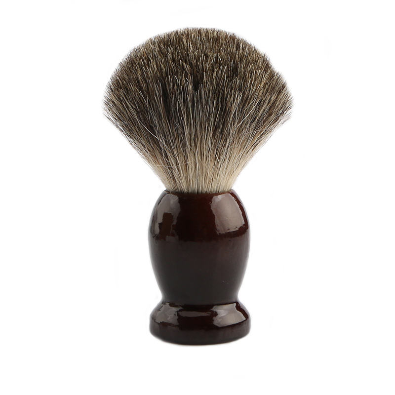 Professional Hair Salon Tool, with badger Hair For barber use Natural Wood Handle Shaving brush