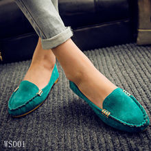 Women Flats shoes Loafers Candy Color Slip on Flat Shoes Ballet Flats Comfortable Ladies shoe