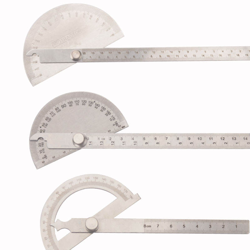 Stainless Steel Type 0-180 Degree Bevel Protractor