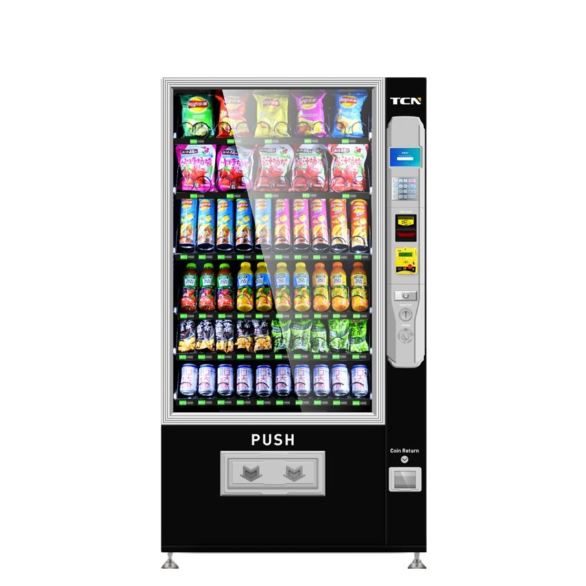 TCN cheapest and simple snack drink soda vending machines for sale in schools