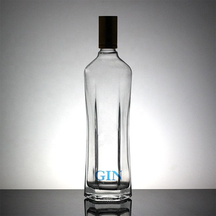 Glas Material Wodka <span class=keywords><strong>Flasche</strong></span> <span class=keywords><strong>Whisky</strong></span> Mit Metall Abdeckung 700ml 1000ml Glas <span class=keywords><strong>Flasche</strong></span>