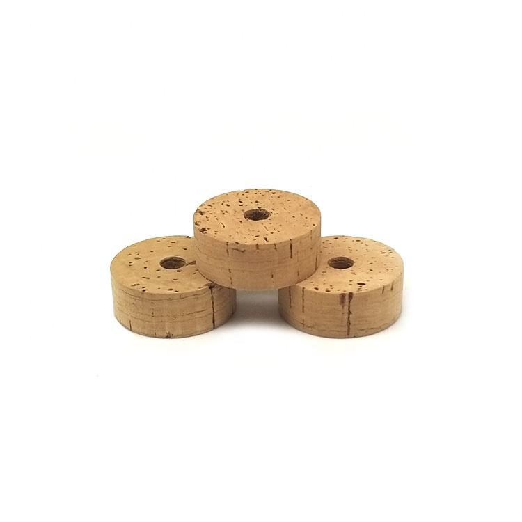 1.25 inch OD x 0.5inch L Grade E Natural Cork Rings for Fishing Rod Building