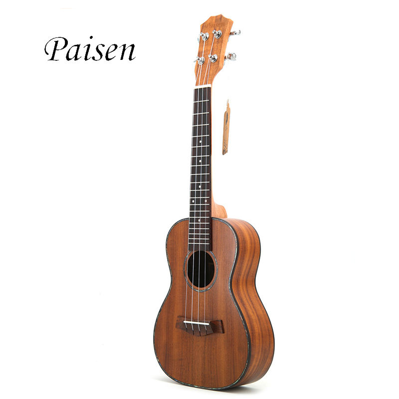 Rosewood [ Guitar Music ] Paisen 23 Inch Koa Plywood Concert Ukulele Four-stringed Guitar Music Ukulele