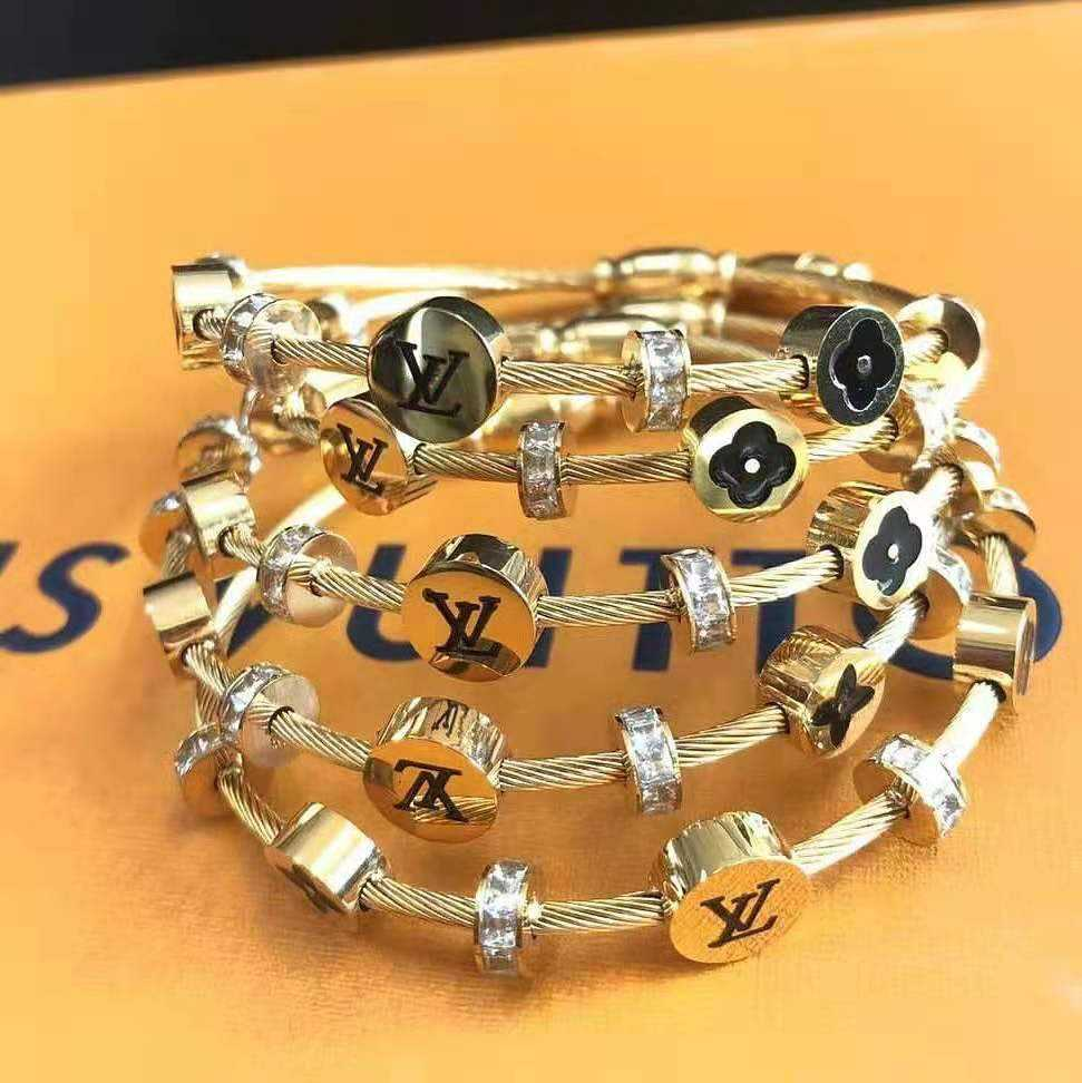 CM-Xinyee Fashion jewelry 2021 new arrivals design fashion hip hop stainless steel gold bracelet