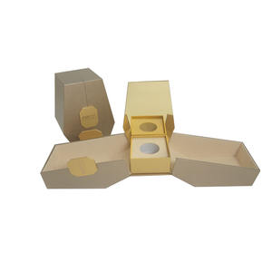 Custom design wooden dubai perfume packaging double door perfume packaging and gift display box