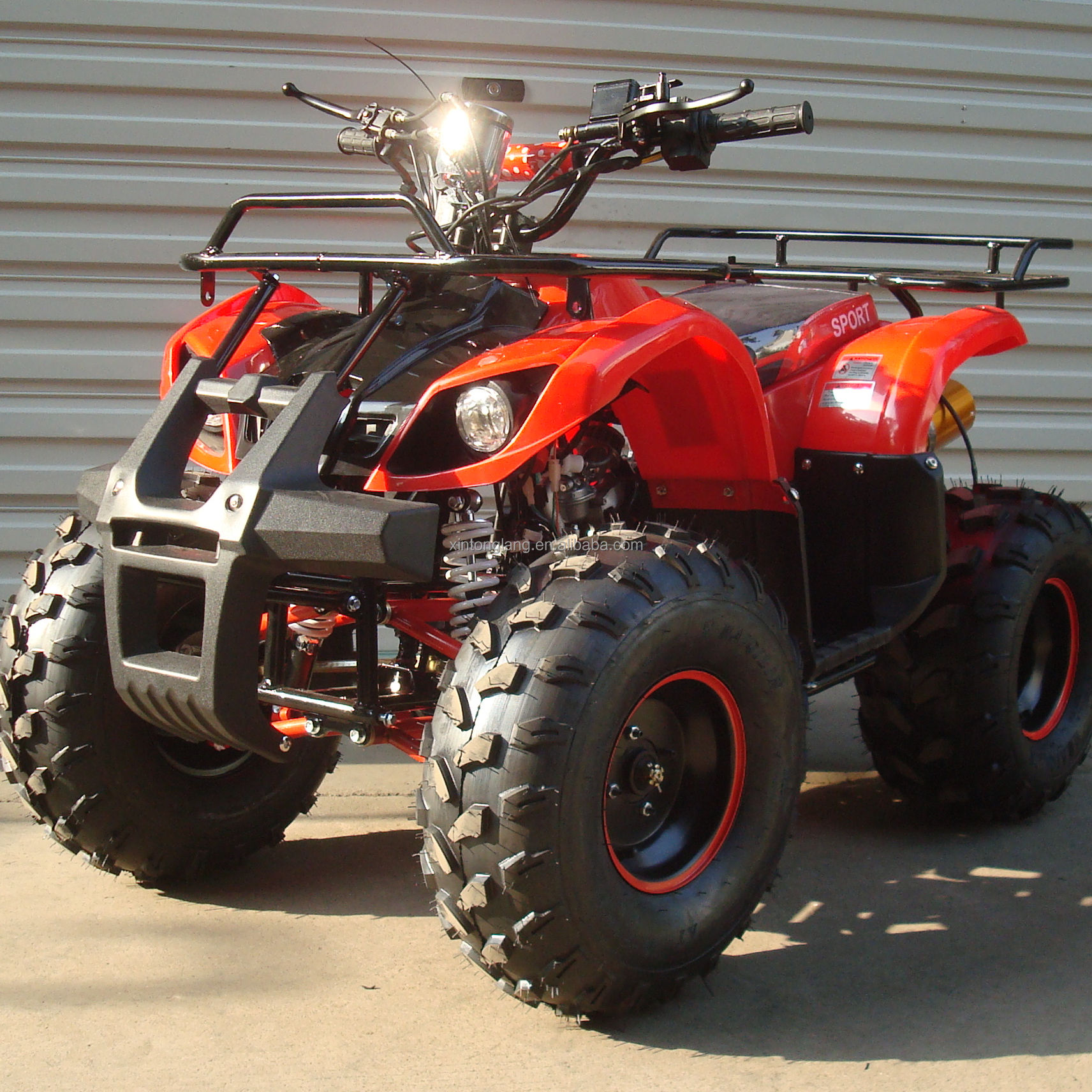 Cheap 4 stroke 110cc Quad ATV with Reverse Gear ATV Quad Bike for sale CE Approved