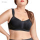 Underwire Bra Underwire Underwire Bra Women Women's U Back Underwire Sport Bra Plus Size Black Full Cup Breathable High Impact Sport Bra