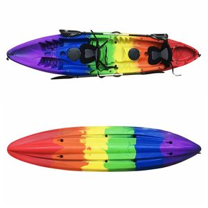 3 pessoa 12ft sit on top Kayak tandem paddle kayaks de Pesca