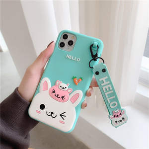 2020 New Style OEM Wholesale Personalized Customized Silicone 3D Cartoon Fashion Cute Phone Case