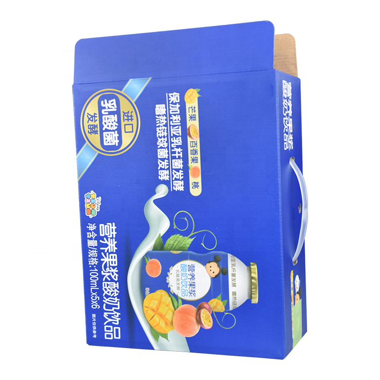 Good quality cheap wholesale corrugated paper milk beer beverage soft drinks carton