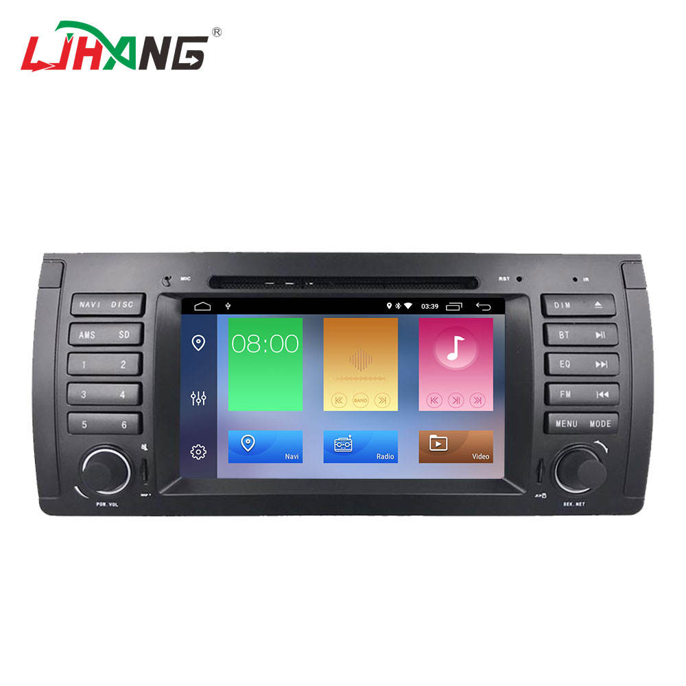 LJHANG Auto DVD Player GPS Audio Radio Für BMW 5 Series X5 E53 E39 M5 Android 9.0 Quad Core Multimedia Kopf einheit 2G <span class=keywords><strong>RAM</strong></span> 16G ROM