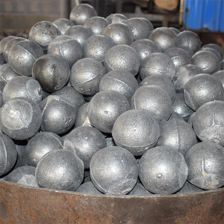 30mm High chromium alloy cast forged grinding steel iron ball