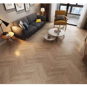 Classic Glazed Herringbone Shape Fishbone Pattern Wood Grain Wall and Floor Ceramic Tiles