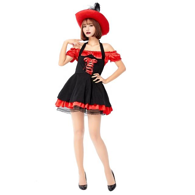 Cheap Party Halloween Carnival Women Sexy Pirate Costume