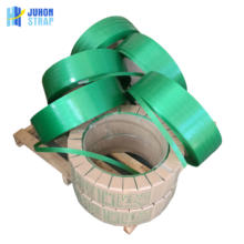 High Tension green PET strap for packing wooden and glass