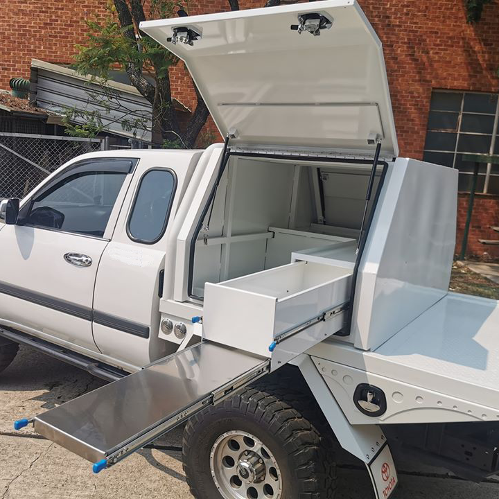 Ecocampor Custom Made Mini Size Ute Canopy Truck Tool Box For Sale