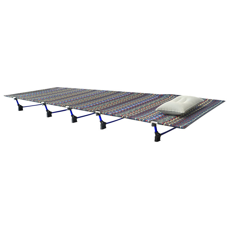 Hoge Kwaliteit Aluminium Stalen Frame Draagbare Militaire Fold Up Camping Opvouwbare Bed Kinderbed Voor Audits