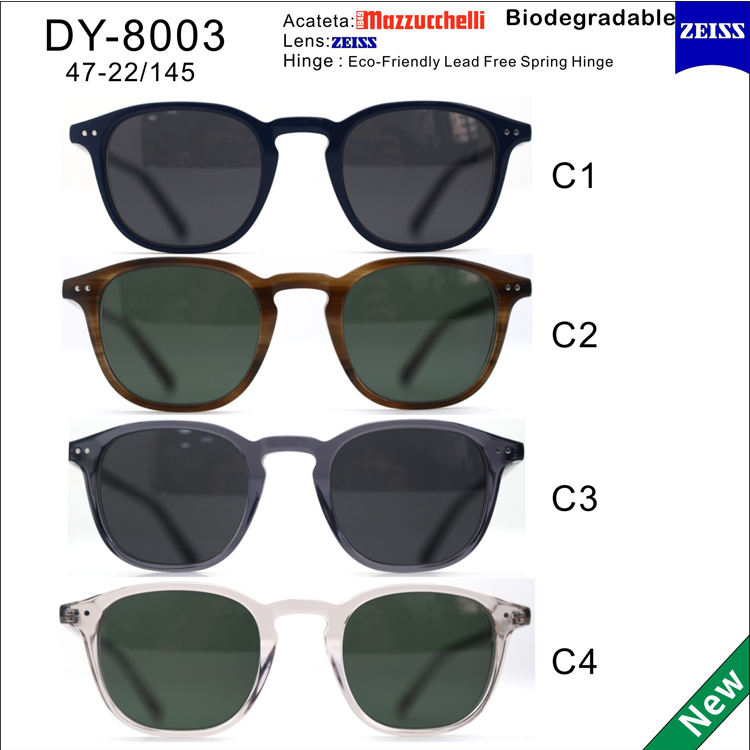 Sifier italy design ce environmental protection vintage sunglasses retro biodegradable eyewear