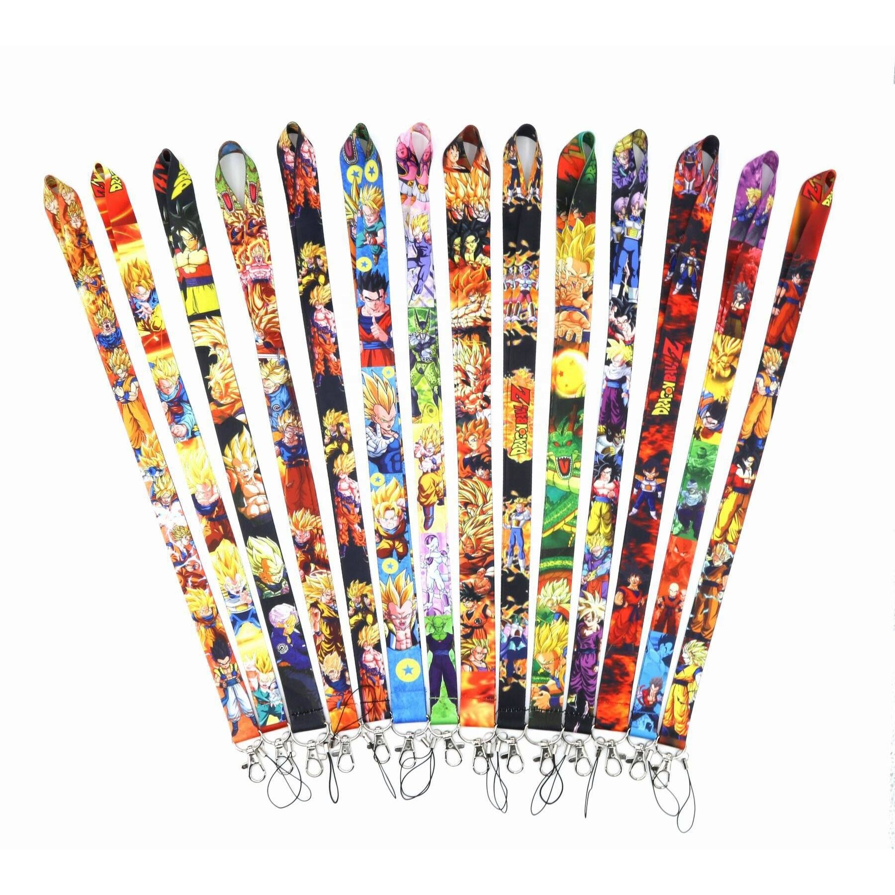 Wholesales Anime Cartoon Dragon Ball Character Lanyards