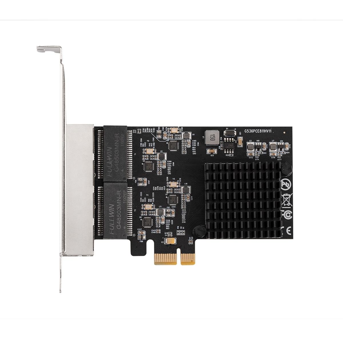 Realtek pci express ממשק 10/100/1000 mbps gigabit ethernet חוטית lan כרטיס