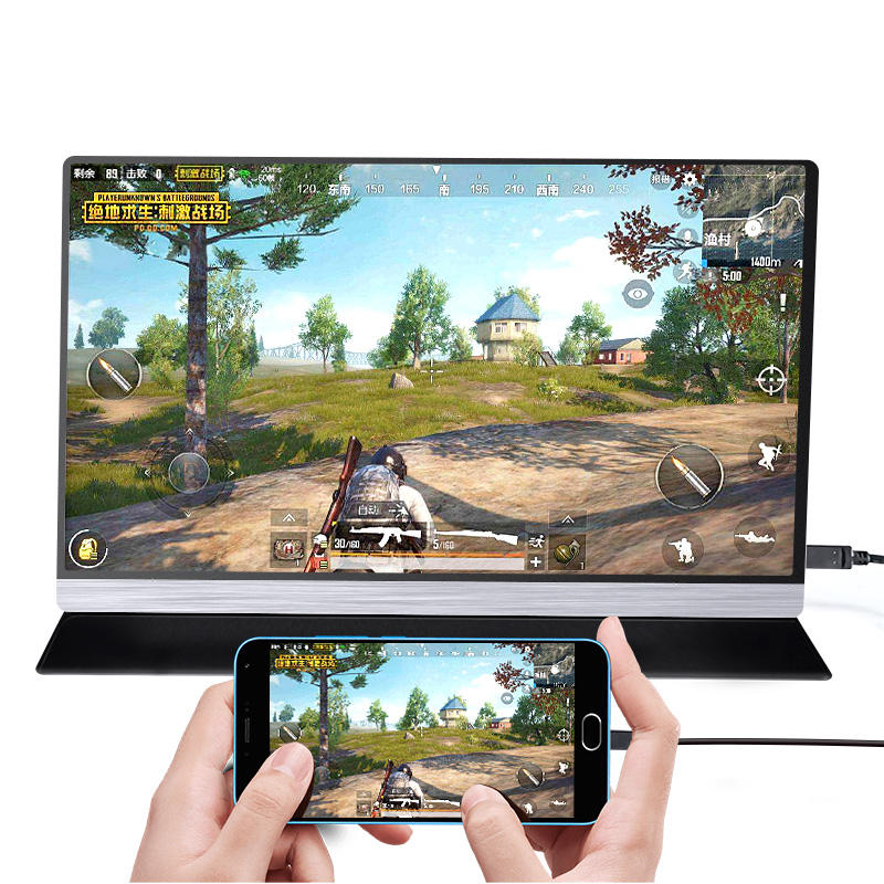 Type-c portable gaming monitor full hd 13.3 inch led notebook computer monitor Laptop Cell phone Gaming Movie Travel display