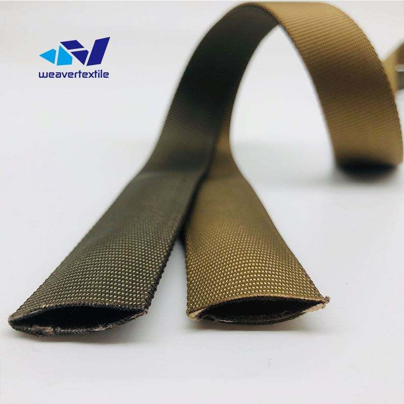 1 inch 1.5 inch 2 inch Custom Jacquard Tubular Polyester Webbing for bag use