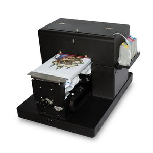 Colorsun A4 Digitale Direct Naar Kledingstuk Flatbed Printer 3d T-shirt Drukmachines Te Koop