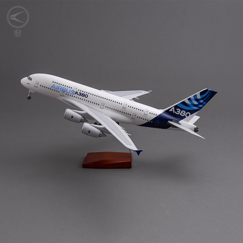 detachable and customizable scale 1/160 46cm size plane model Airbus A380 Prototype Airlines
