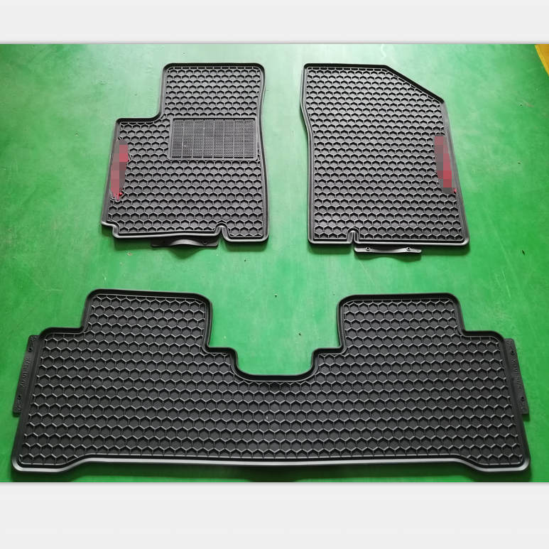 All Weather Full Set Position Non Skid Design Pvc Latex Car Mats Fit For ACCENT 2011 2012 2013 2014 2015 2016