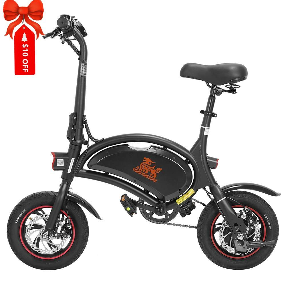 2020 New arrival EU warehouse Kugoo Kirin B1 pro support pedal or electric function folding electric bicycle