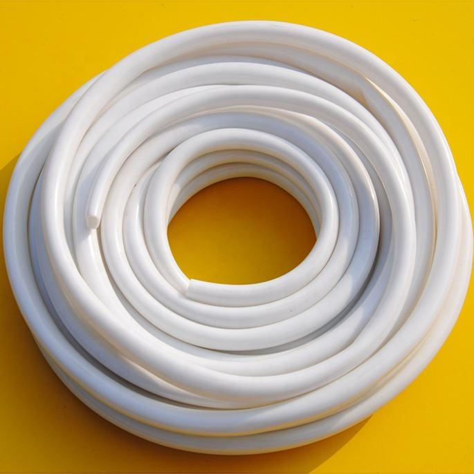 "JG 1/4"" 3/8"" 1/2"" Food Safe Vinyl Tubing, Flexible Water Cooling PVC Tubing White Tube,Food Grade White Milk Hose Pipe"