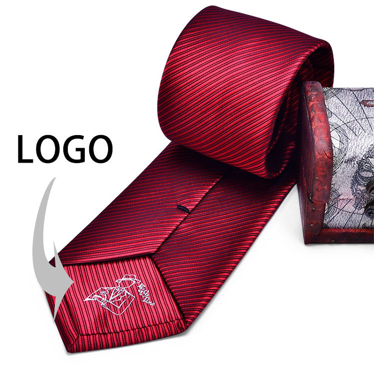 Manufacturer Custom Mens Tie Silk Neck Ties